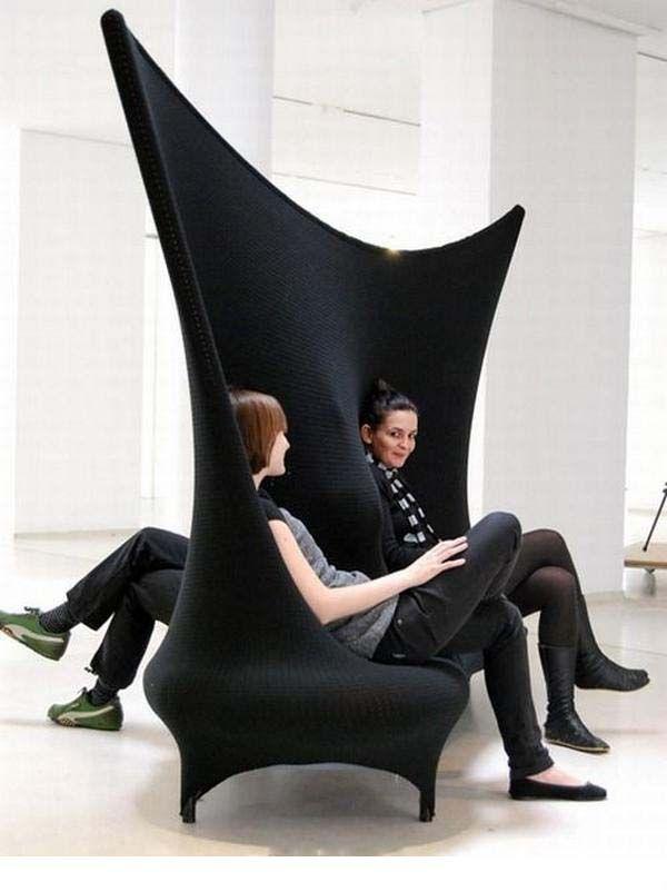 Funky chair design Fun Panorama Funny, Sleeky and Weird Chair - designer mobel liegestuhl curt bernhard