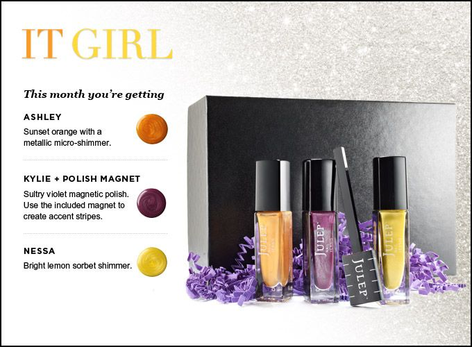 Super excited about the magnetic nail polish that will be in my next Julep Maven box!