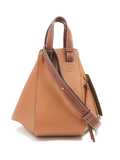 ea7ebe91a1fe LOEWE Hammock small grained-leather tote.  loewe  bags  canvas  lace  tote   leather  lining  shoulder bags  hand bags