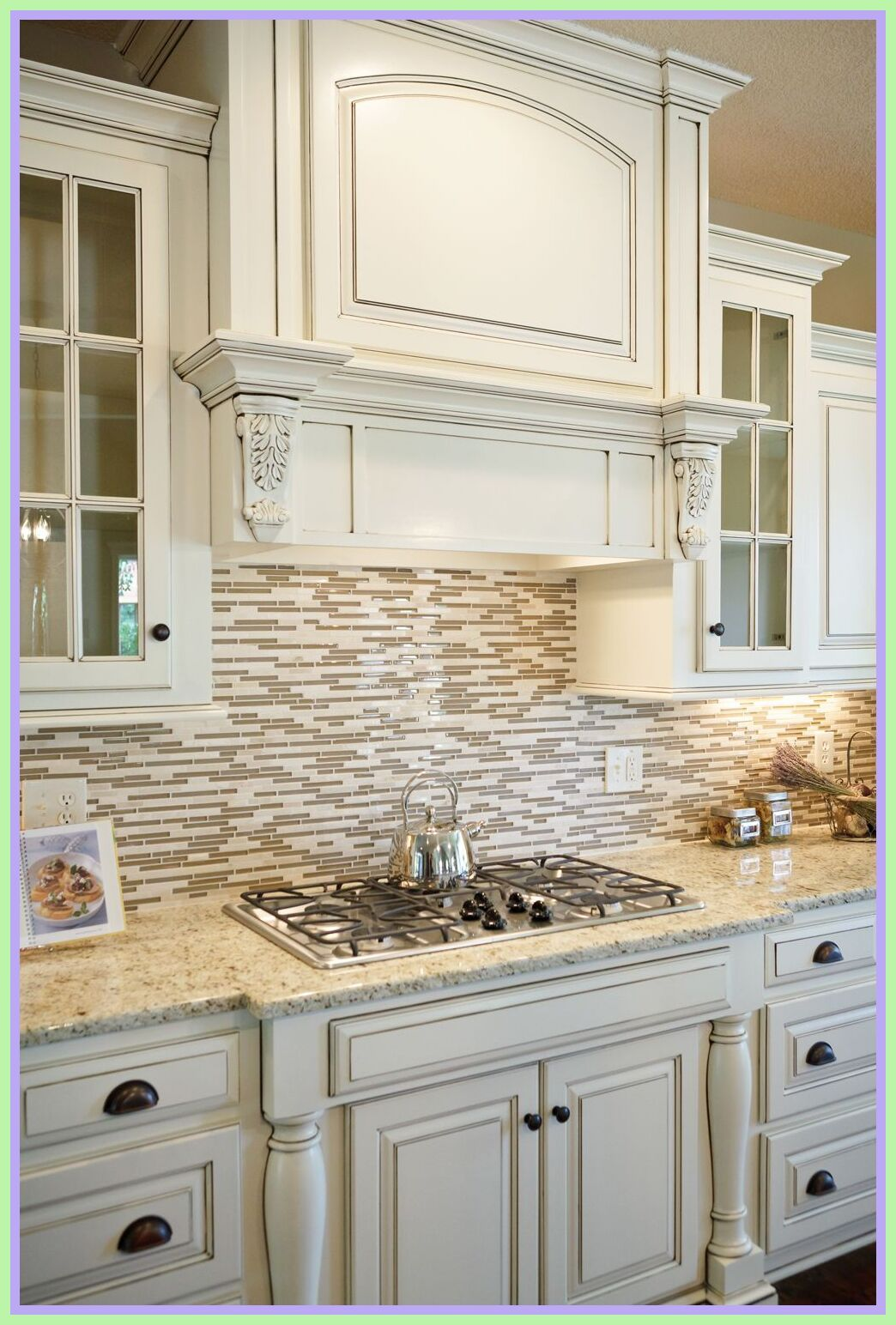 59 Reference Of Cream Kitchen Cabinets With Granite Countertops In 2020 Cream Kitchen Cabinets Cream Colored Kitchen Cabinets Kitchen Cabinets