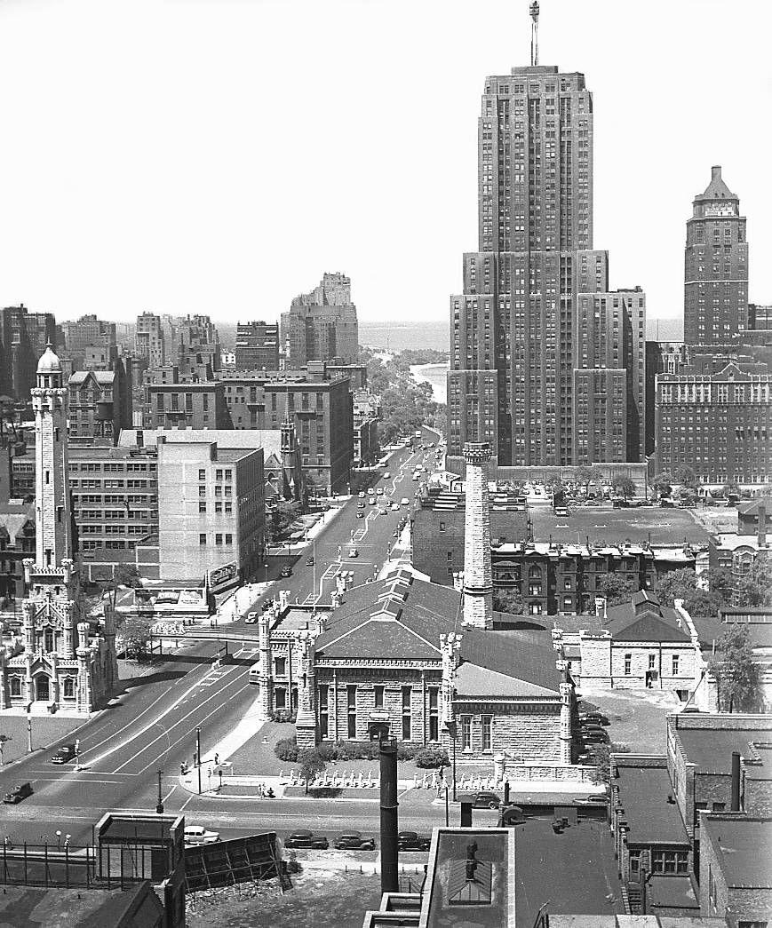 Chicago, 1943. Michigan Ave. | Chicago | Pinterest ...