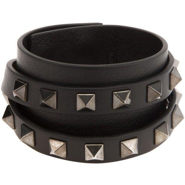 c5d24ef75f1b Valentino Garavani  Rockstud  cuff (€390) ❤ liked on Polyvore featuring  jewelry