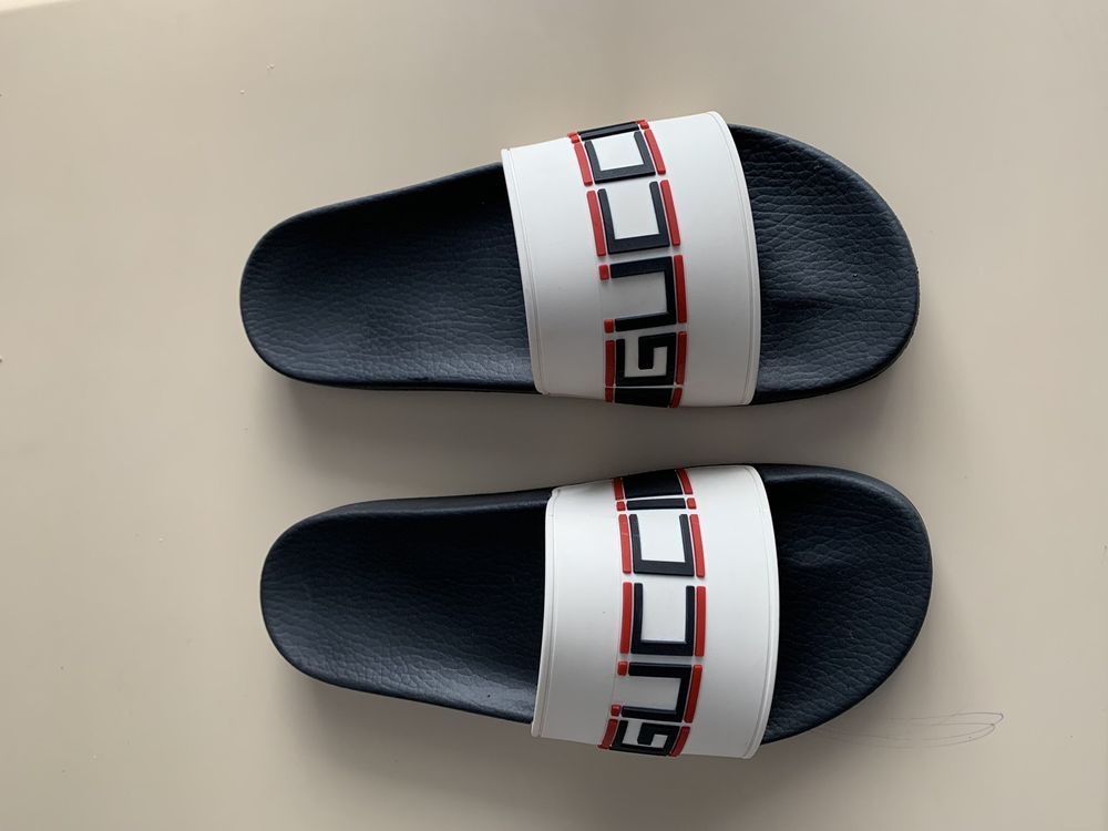 cfda40168569 mens gucci slides size 9  fashion  clothing  shoes  accessories  mensshoes