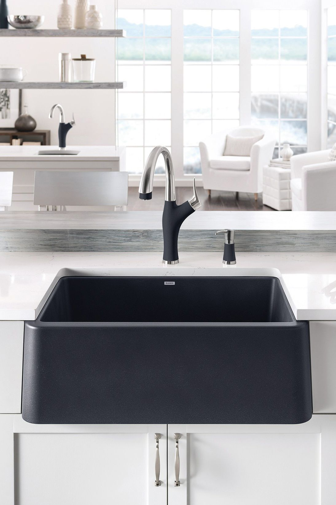 From The Ikon Collection This Apron Front Sink From
