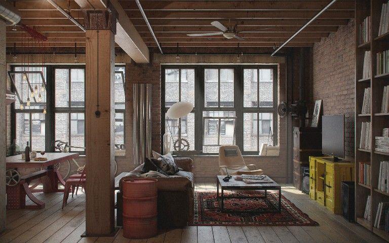 15 Amazing Designed Industrial Loft Loft Interior Design Loft Interiors Industrial House