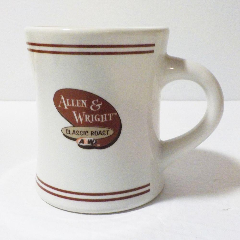 A W Coffee Mug Allen Wright Cup Classic Roast Restaurant English French Aw Roast Restaurant Mugs Coffee Mugs