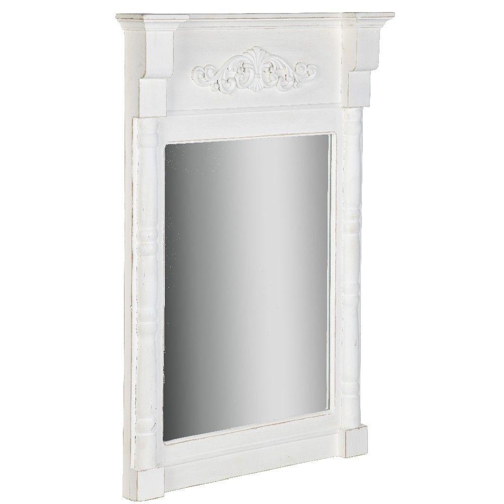 Epingle Par Gifi Sur Style Chic Miroir Blanc