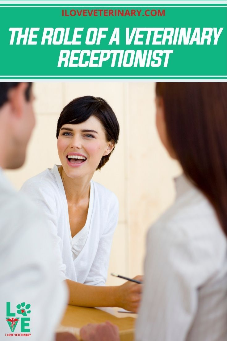 The Role of a Veterinary Receptionist I Love Veterinary