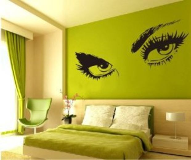 Amazon.com: Large Audrey Hepburn\'s Eyes Vinyl Wall Decal Girl\'s ...