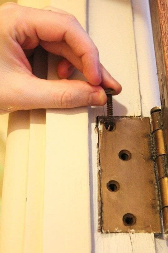 DIY Hack: Fix Your Stubborn, Hard-to-Close Door with a ...