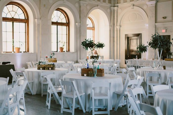Facility Rental Courthouse Venues Highboy Table