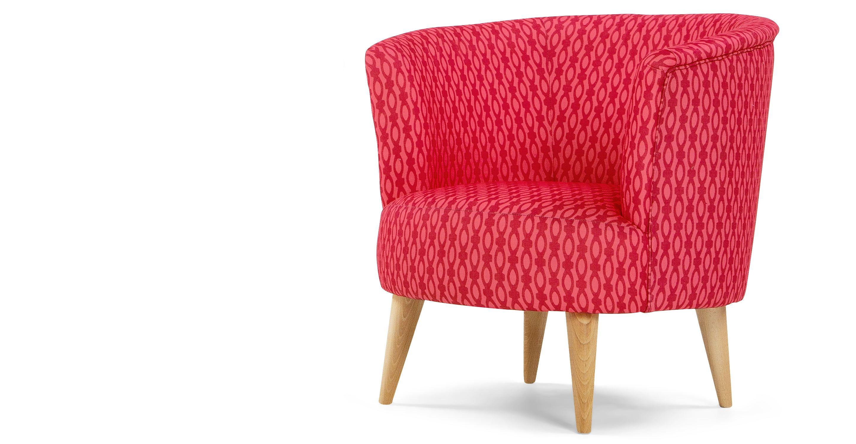Koraalkleur De Woonkamer : Lulu ronde stoel framboos en koraalkleur home sweet home