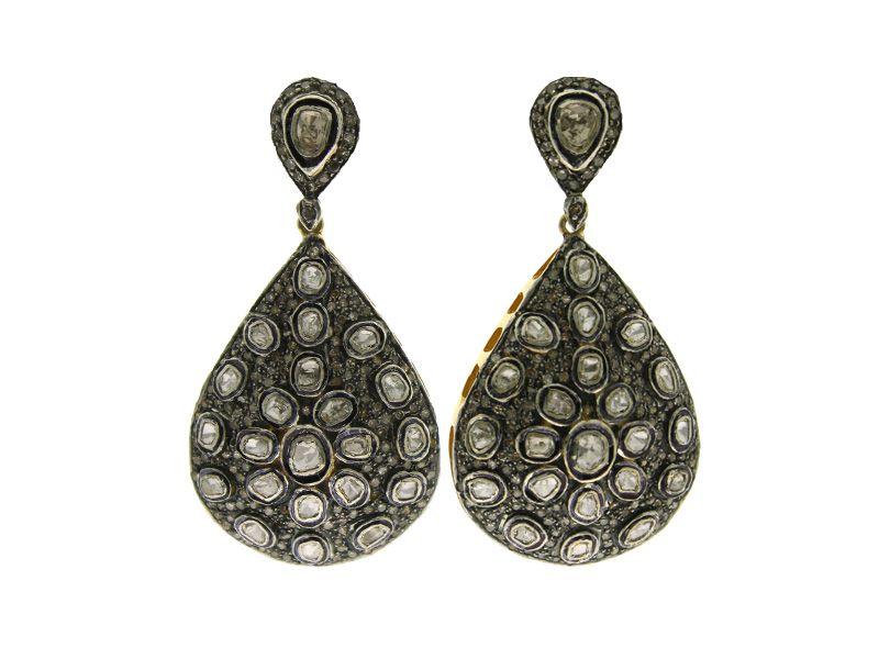 Indian Diamond Earrings