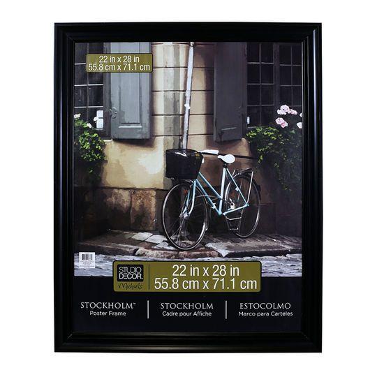 Stockholm Poster Frame By Studio Decor In Black 22 X 28 Michaels Picture Frame Sizes Frame Large Poster Frames