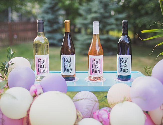 Summertime Wine Tasting Dinner Party Outdoor Entertaining