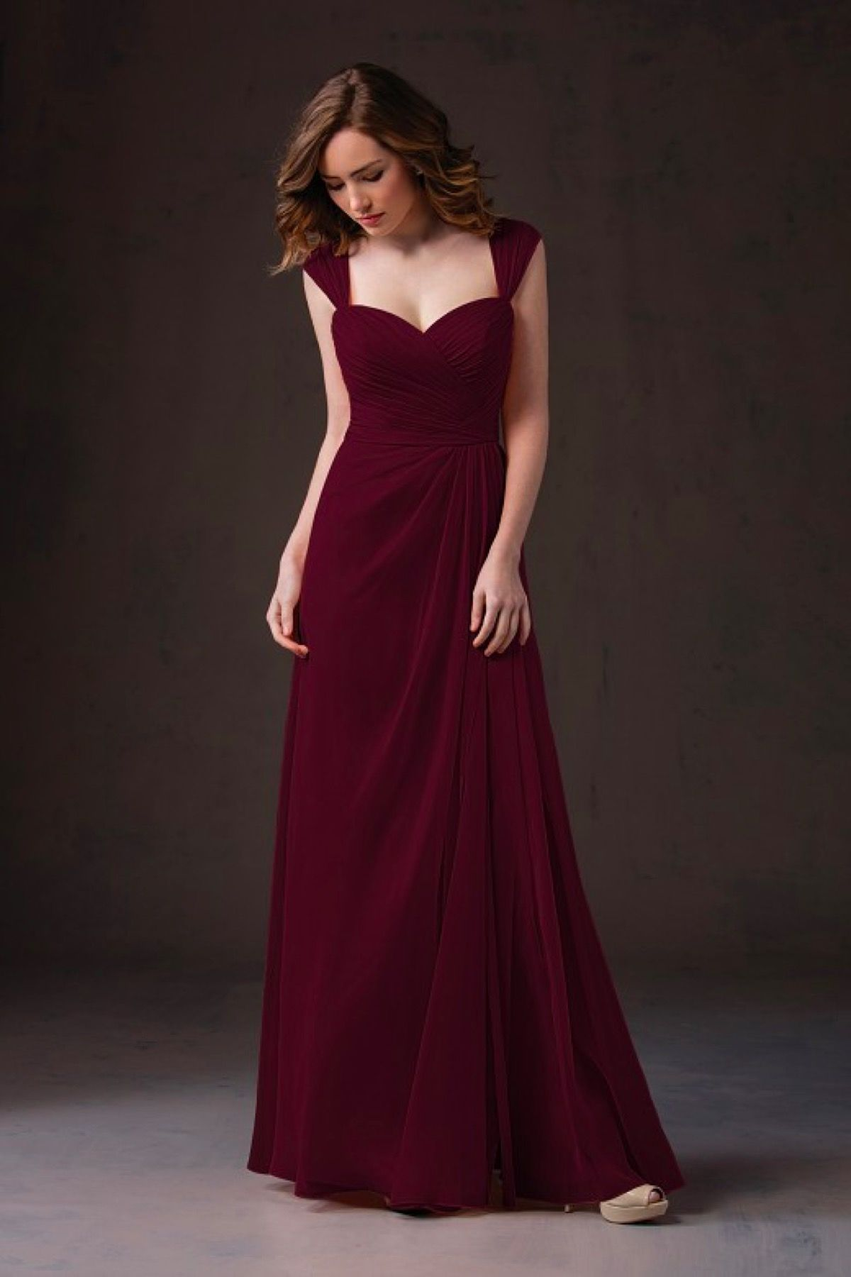 Style l184055 jasmine jasmine and style bridesmaiddresses style l184055 in cranberry jasmine more ombrellifo Images