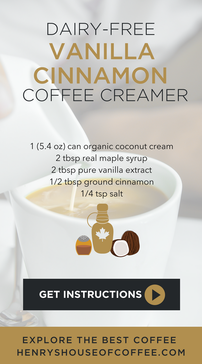 3 Dairy Free Coffee Creamer Recipes