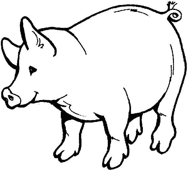 Pig Drawings For Kids Coloring Page Coloring Sky Horse Coloring Pages Animal Coloring Books Animal Coloring Pages