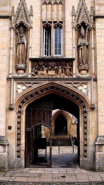 Gatehouse, Merton College. Several tutorials here too