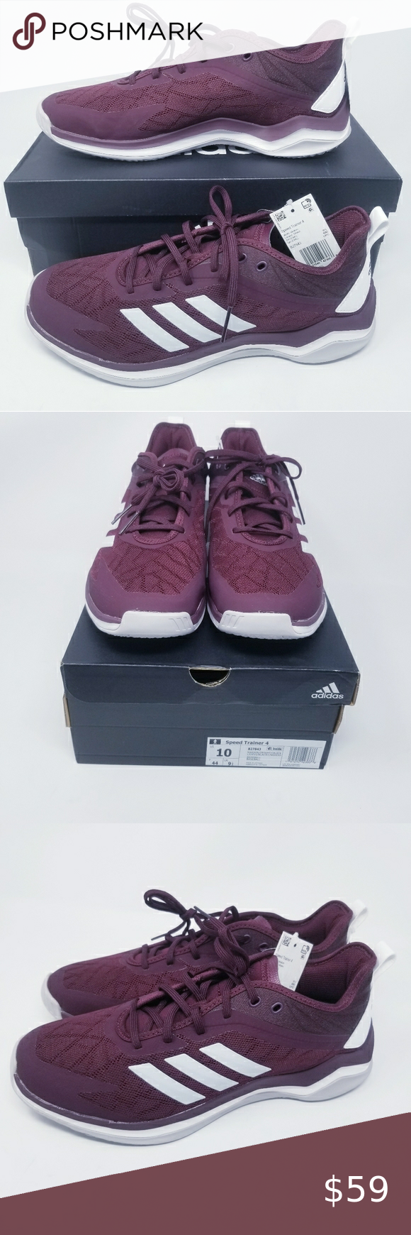 Adidas Men's Speed Trainer 4 Shoes Size 10 | Adidas men, Shoes ...