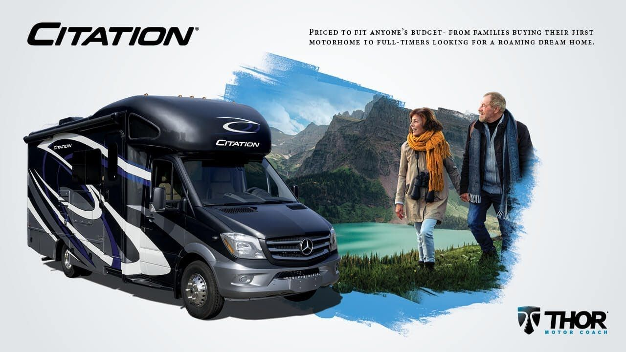 2019 Citation Sprinter From Thor Motor Coach When The Weekend