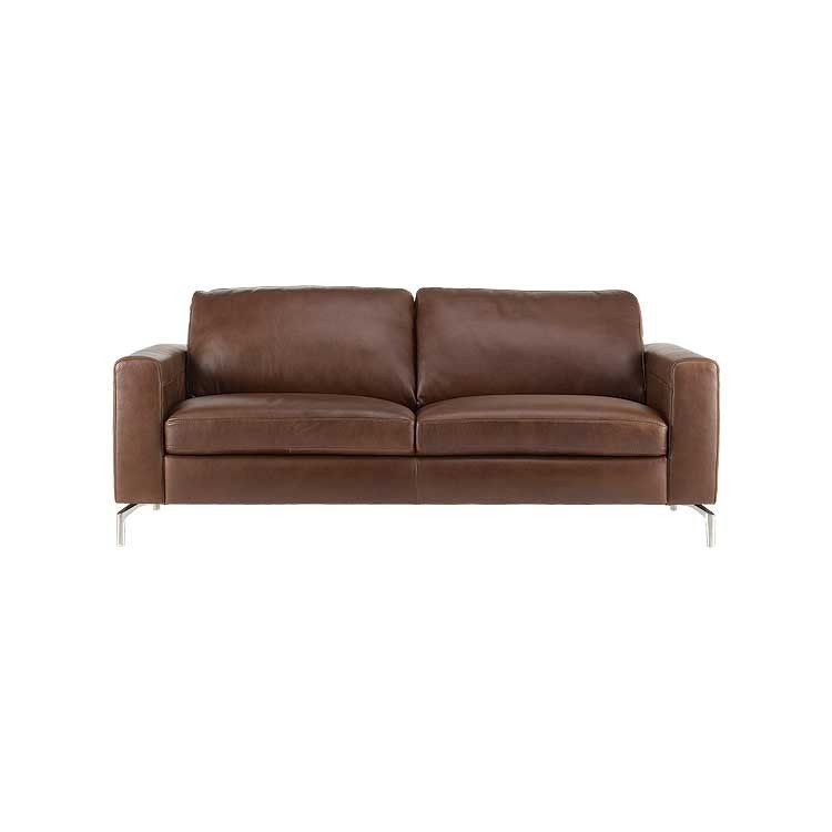 Affordable Modern Sofa Leather Sectional And Ottoman Seattle Furniture