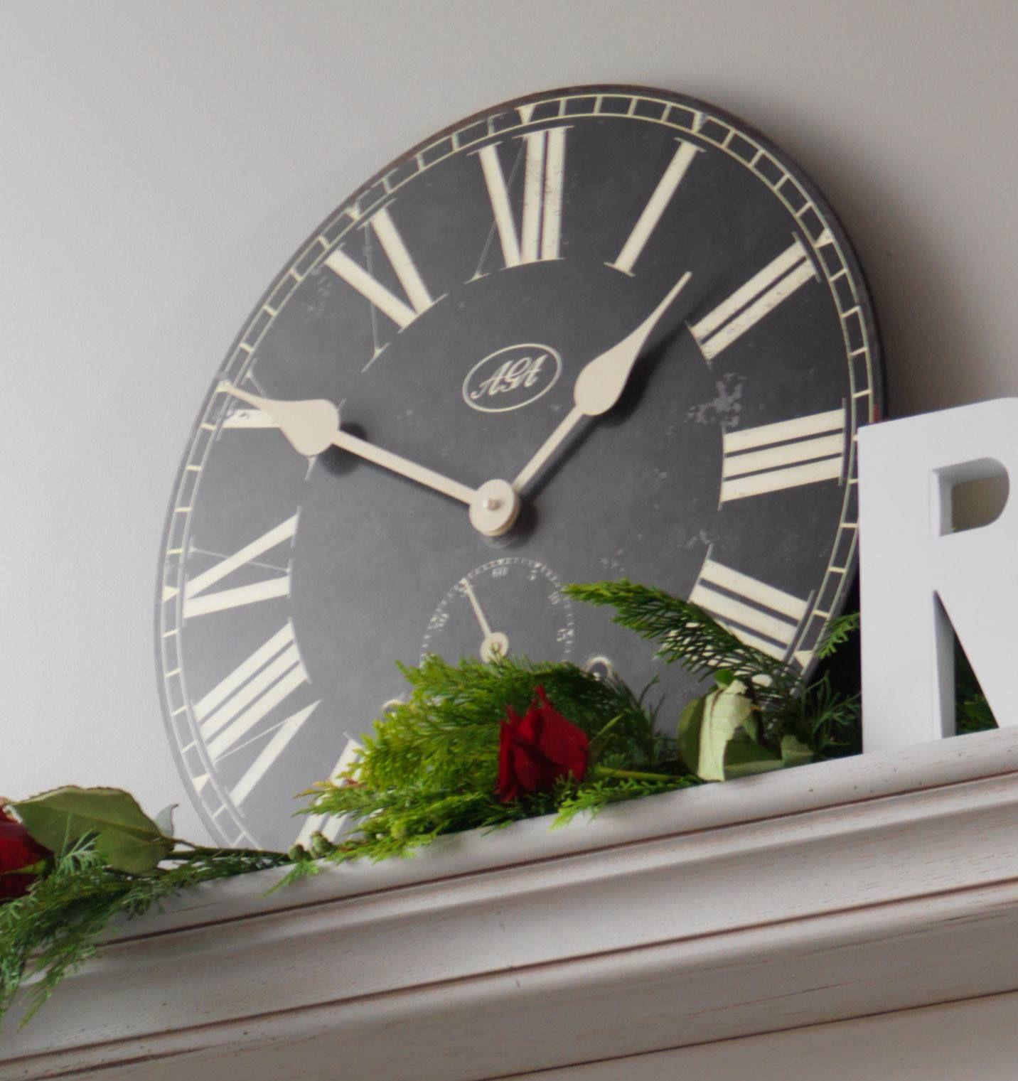 AGA Palladium clock