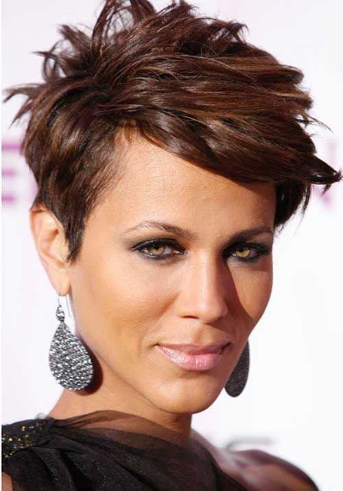 Nicole Ari Parker Short Hairstyles for Black Women | Hair and ...