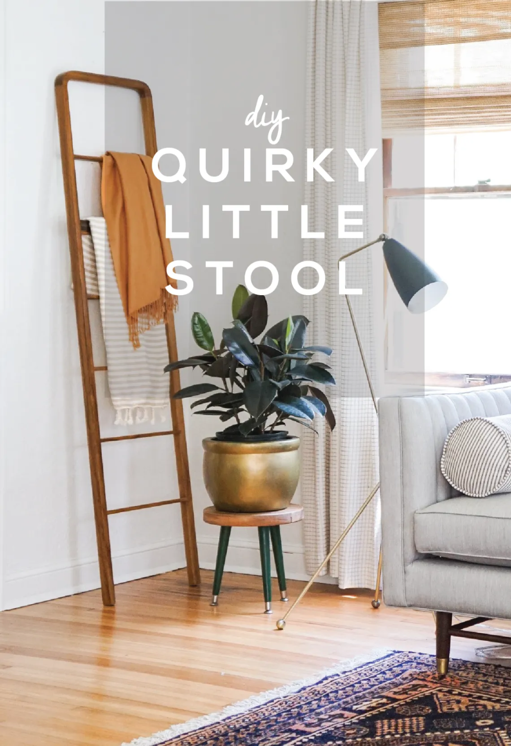 Quirky Little Stool DIY – Francois et Moi – Selbermachen – DIY Ideen