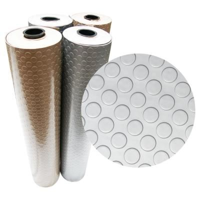 Rubber Cal Diamond Plate Metallic 4 Ft X 4 Ft Beige Pvc Flooring 16 Sq Ft 03 266w Bg 04 Pvc Flooring Durable Flooring Best Flooring