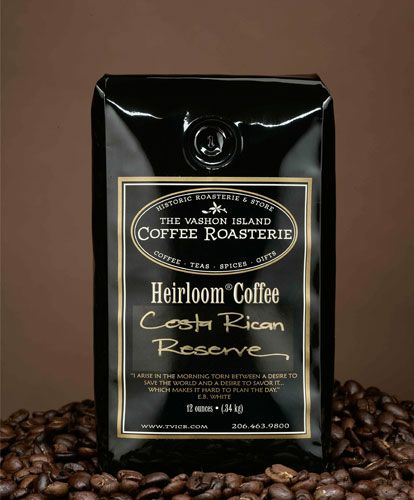 Sweet Rustic Light Roast. This is Best for Drip & French Press | Smith Brothers Farms delivers to you Vashon Costa Rican Reserve