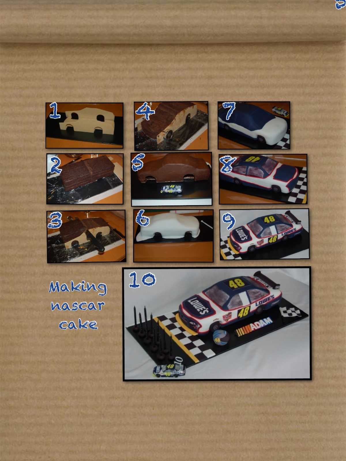 Making a 3d car cake the making of pinterest car cakes cake making a 3d car cake baditri Choice Image