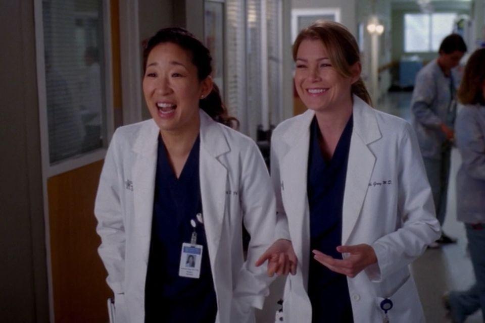 Christina Yang & Meredith Grey   Greys anatomy engraçado, Grey's anatomy,  Greys anatomy