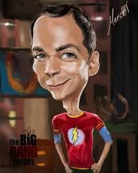 Resultado de imagen de caricaturas the big bang theory