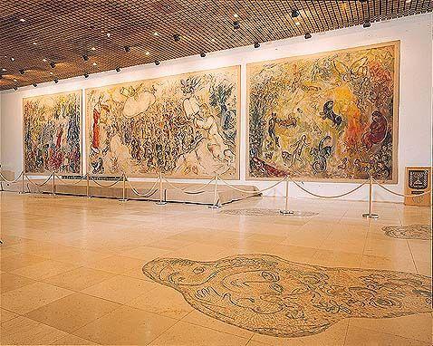 Johan Persyn Amazing Star Marketing Marc Chagall's Bijbelse Taferelen in de Knesset Jeruzalem