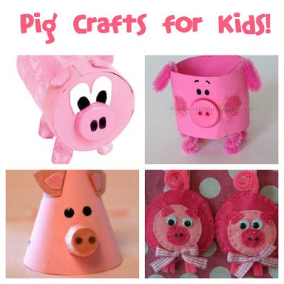March 1st is National Pig Day Make fun pig crafts with the kids