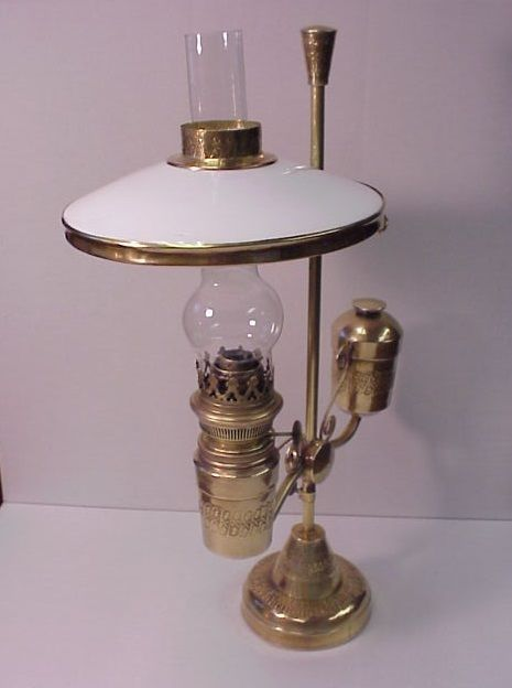1800 S Brass Student Oil Lamp Oil Lamps Lamp Antique Lamps
