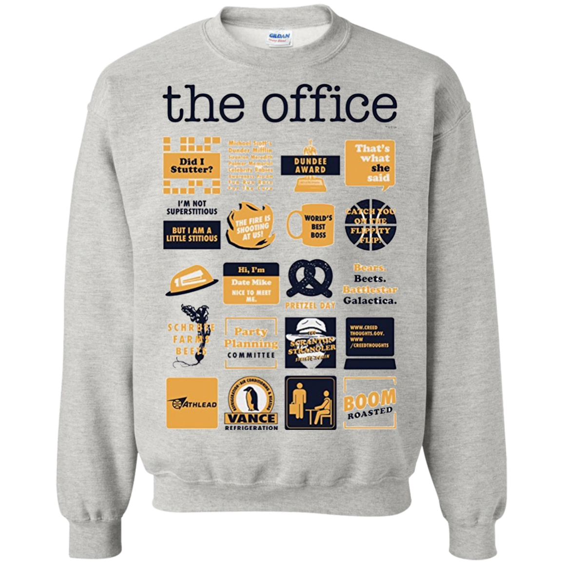551f0957a The Office Quote Mash-Up Funny T shirt hoodie sweater | Clothes ...