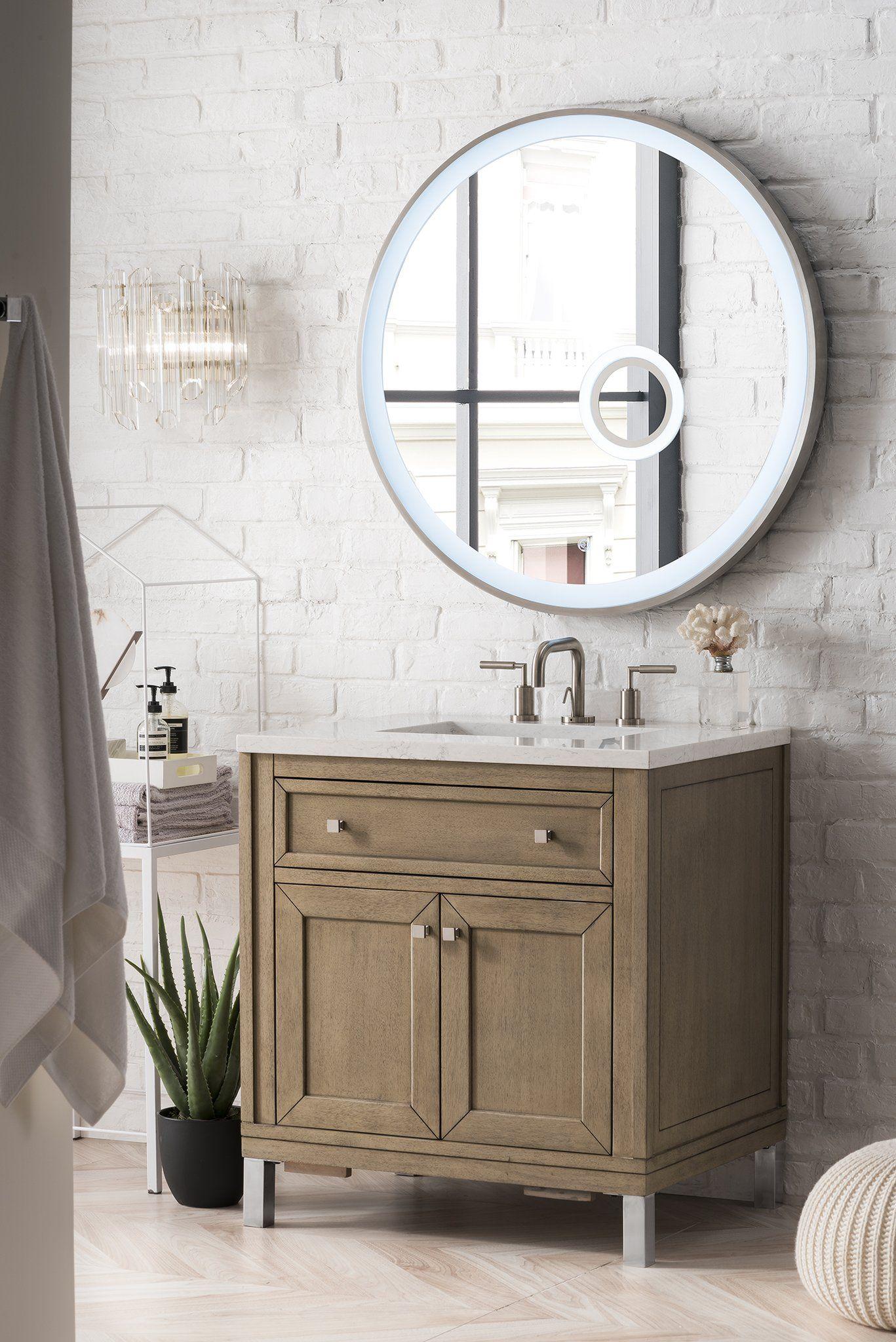 Chicago 30 Single Bathroom Vanity Single Bathroom Vanity