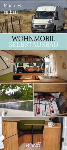 wohnmobilausbau wohnmobil selber ausbauen travel vans pinterest camper camper van and. Black Bedroom Furniture Sets. Home Design Ideas