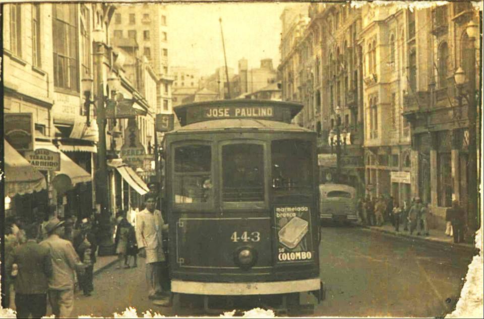 12-04-1943 - Rua Líbero Badaró.