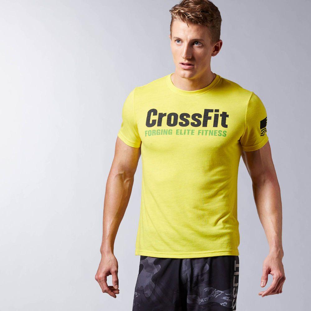 Reebok Mens Crossfit Forging Elite Fitness Tee