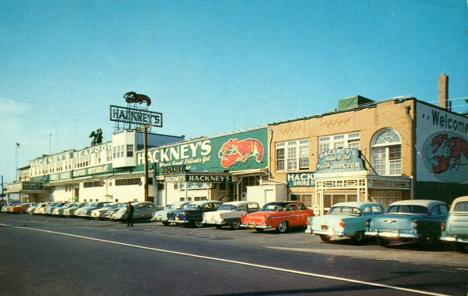 Atlantic City New Jersey 1950s Atlantic City Street Scenes City