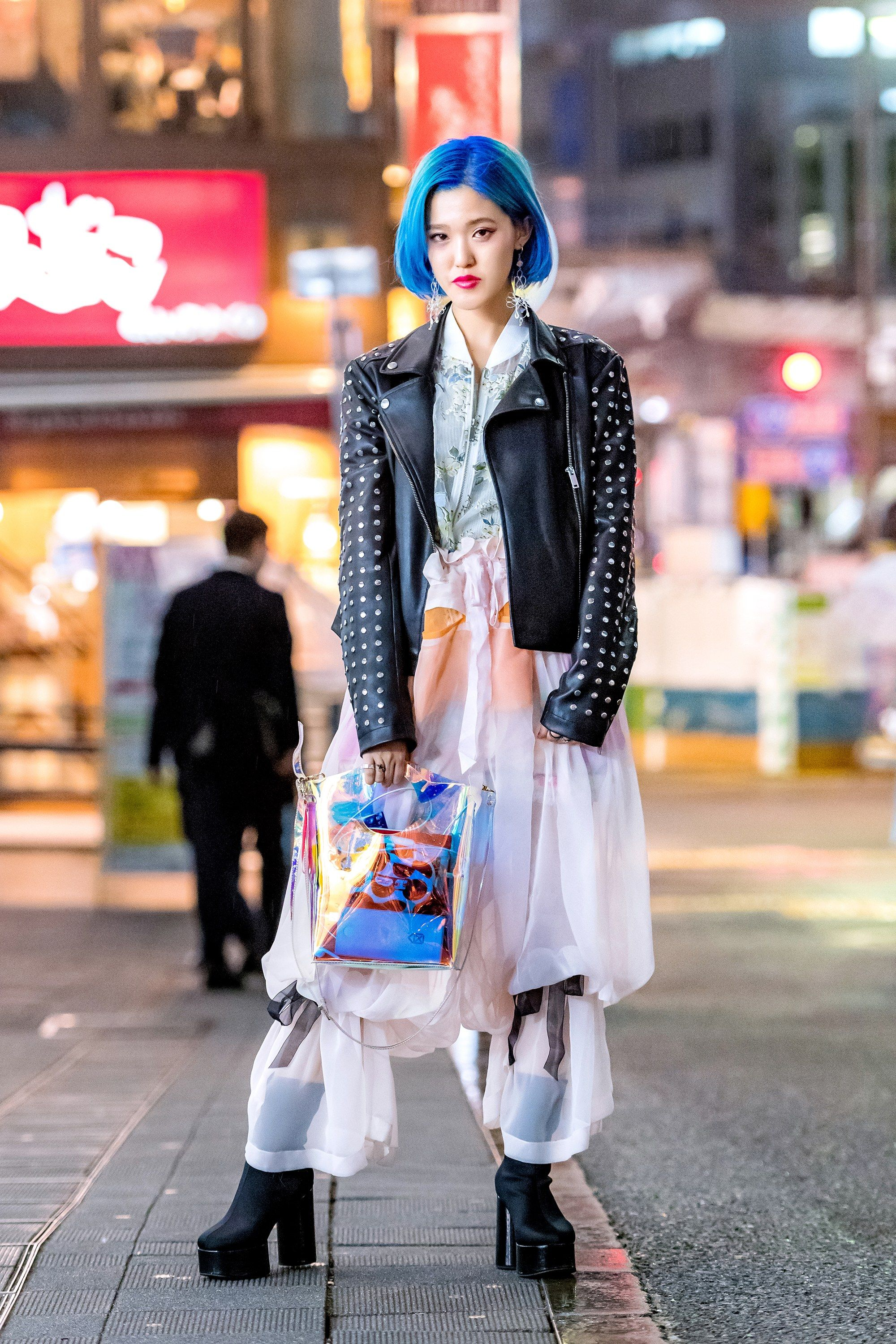 f1fa4a2c105a1 The Best Street Style From Tokyo Fashion Week Fall 2018
