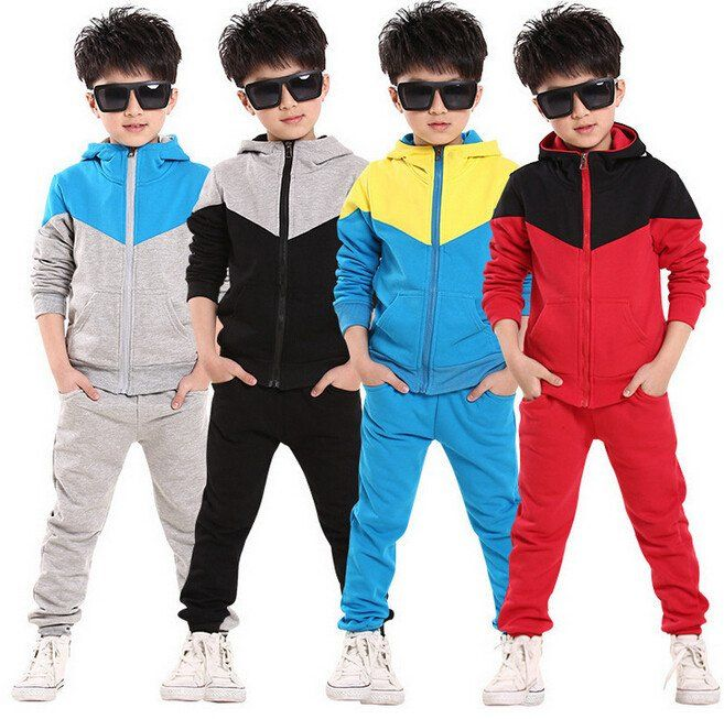 New autumn children clothes outwear kids 2 piece sport suit boys clothing  set hoodie+pants autumn baby casual sets   Kids outfits, Childrens suits,  Kids outwear