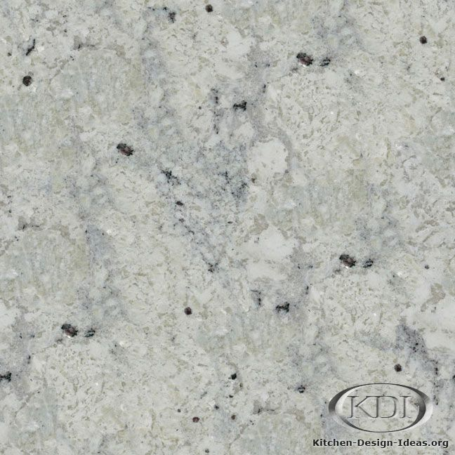 New Roman White granite is a natural stone that could be used for kitchen countertop surfaces Idea - Review White Granite Simple Elegant