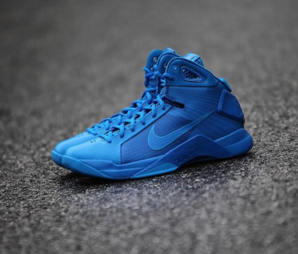 The Nike Hyperdunk 2008 Photo Blue Is