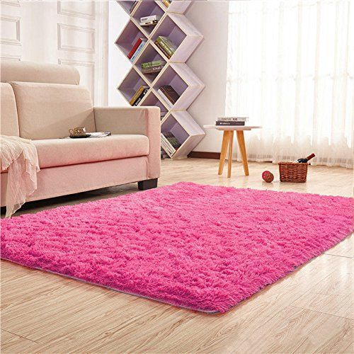 Noahas Super Soft 4.5cm Thick Modern Shag Area Rugs Fluff... | Baby ...