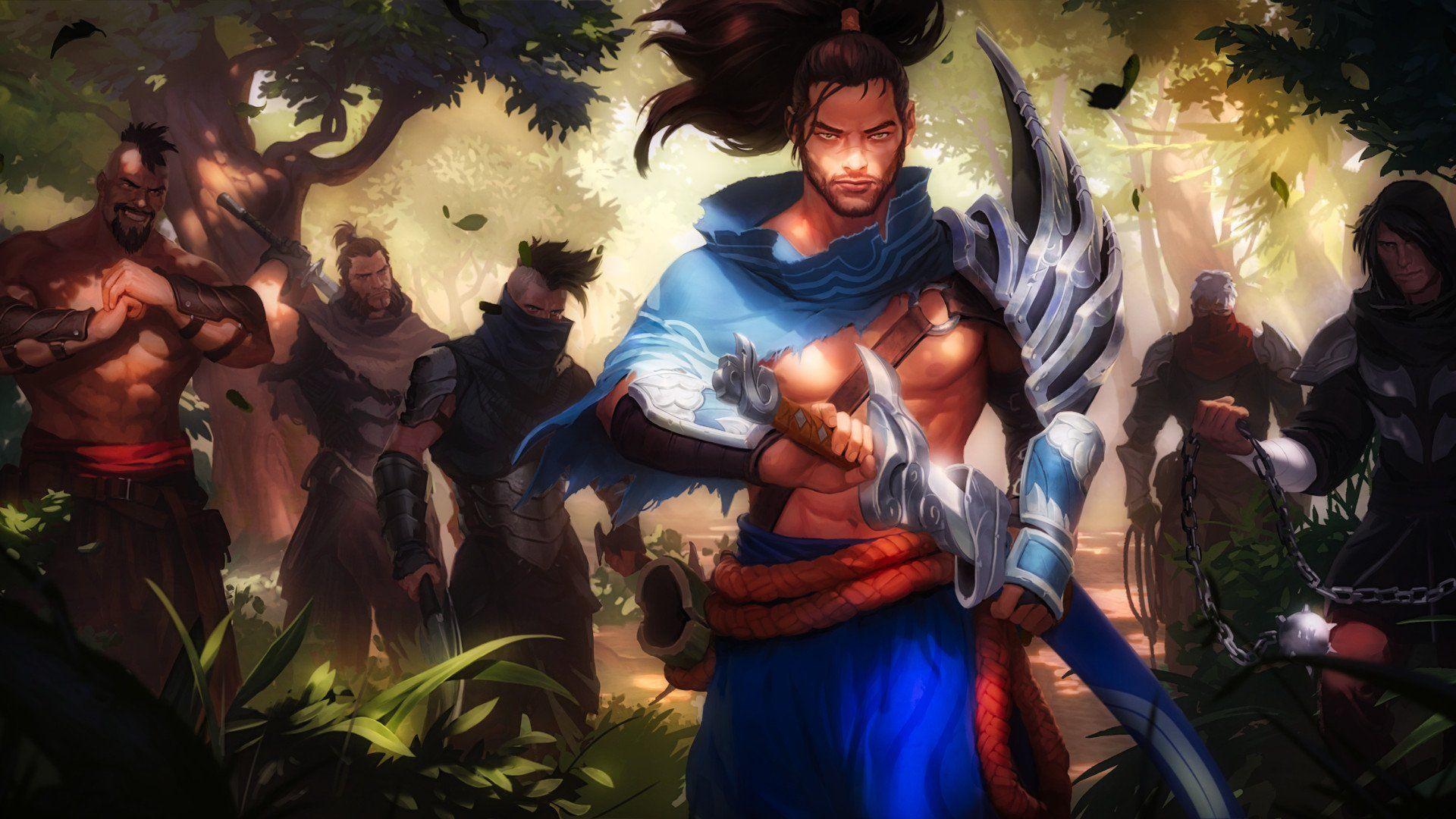 Legends Of Runeterra Wallpapers L2pbomb League Of Legends Yasuo Art League Of Legends Characters