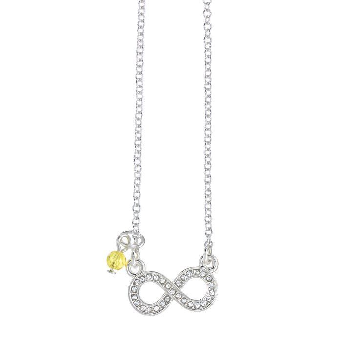 Be symbolic through your accessories put meaning behind your bling symbolic charm necklace in infinity aloadofball Gallery